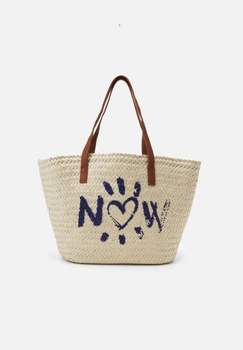 TROPICAL CAPAZO - Handbag - beige