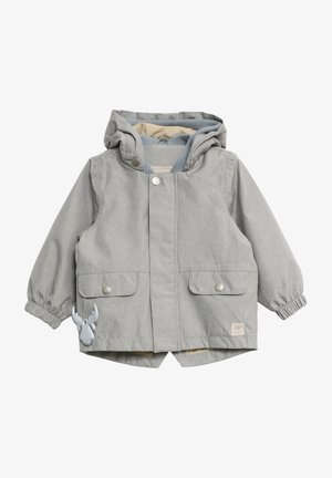 Waterproof jacket - dove melange