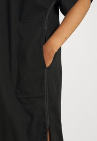 G-Star - BASEBALL SCOOP DRESS - Blousejurk - pitch black - 4