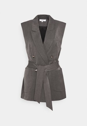 BEATH - Blazer - dark grey melange