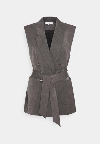 BEATH - Blazer - dark grey melange