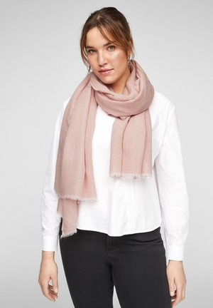 SJAAL - Scarf - light pink stripes