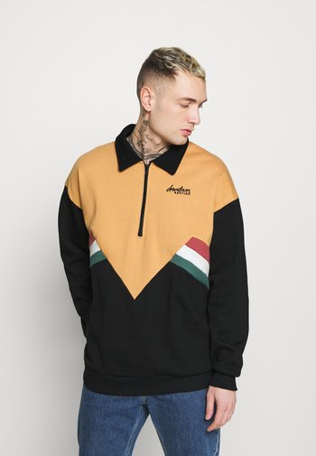 UNISEX CREW MALCOLM - Sweatshirt - black