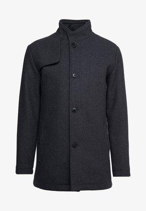 SLHHANNOVER COAT - Krátký kabát - grey melange