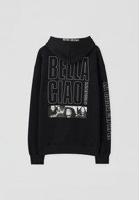 PULL&BEAR - LA CASA DE PAPEL - Bluza z kapturem - black - 1
