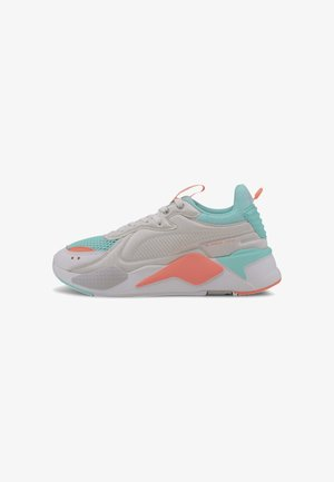 Trainers - puma white-aruba blue