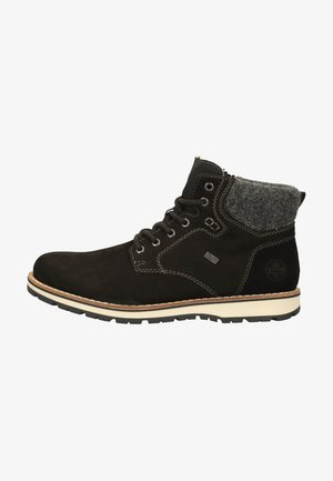Lace-up ankle boots - black/anthrazit 00
