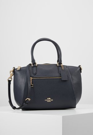 POLISHED ELISE SATCHEL - Handbag - midnight navy