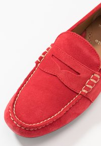 Polo Ralph Lauren - REYNOLD DRIVER - Moccasins - red - 5