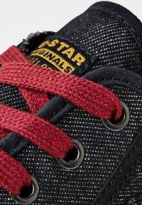 G-Star - ROVULC 50 YEARS DENIM LOW - Sneakers laag - black - 4