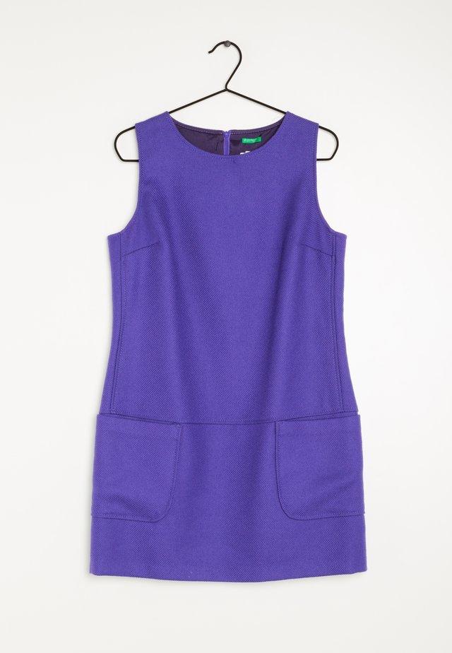 Gebreide jurk - purple
