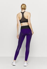 adidas by Stella McCartney - TRUEPACE - Medias - collegiate purple/black - 2