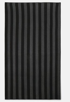 BEACH TOWEL 180x100CM 500 GSM - Strandhåndkle - black/dark grey