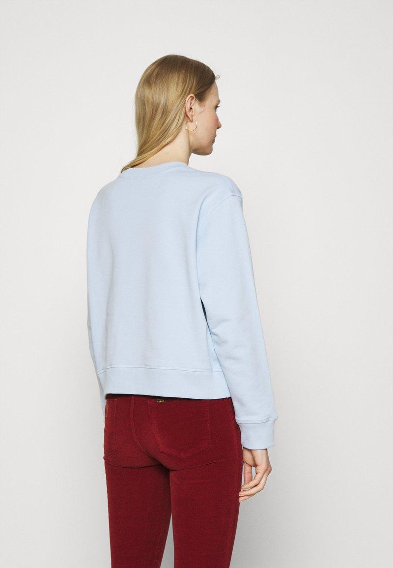 Tommy Hilfiger - RELAXED BOX  - Sweatshirt - breezy blue