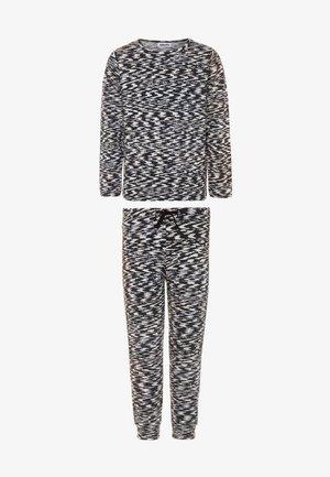 LUVE - Pyjama - black/white