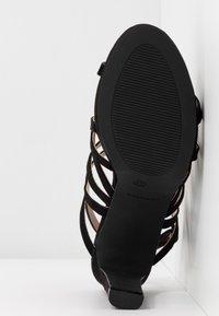 Mariamare - Sandály na vysokém podpatku - black - 6