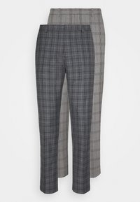 Burton Menswear London - CHECK 2 PACK - Kangashousut - navy - 5
