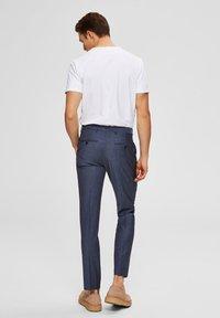 Selected Homme - Pantalon de costume - light blue - 2