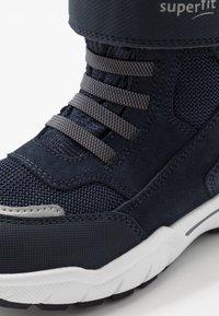Superfit - CULUSUK - Zimní obuv - blau/grün - 5