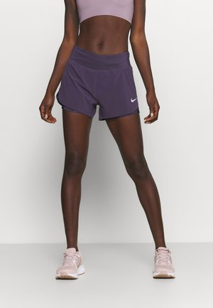 ECLIPSE SHORT - Sports shorts - dark raisin