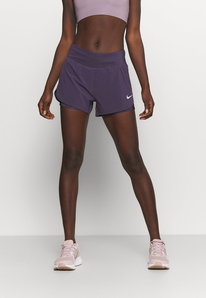 Nike Performance - ECLIPSE SHORT - Urheilushortsit - dark raisin