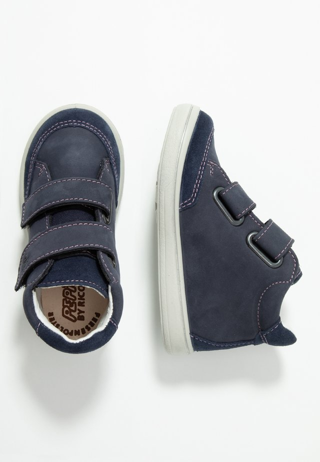 LARA - Touch-strap shoes - nautic