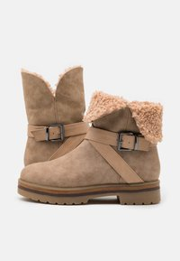 Anna Field - Platform ankle boots - beige - 5