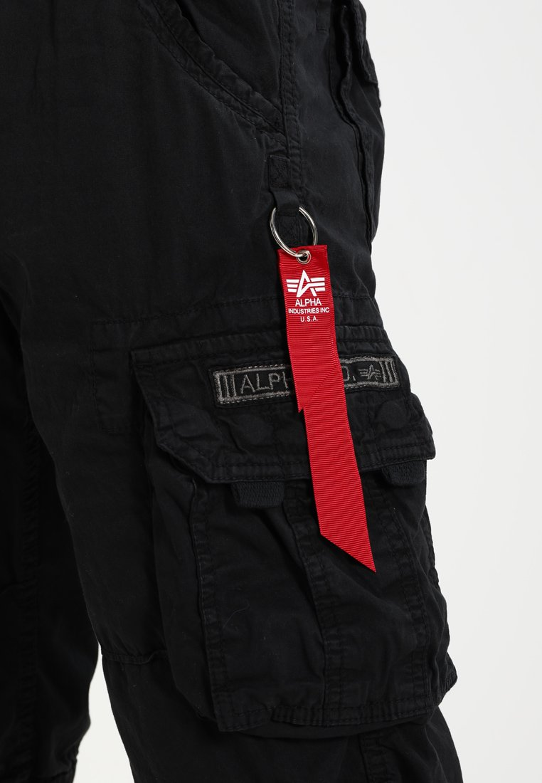 Alpha Industries JET - Pantalon cargo - schwarz