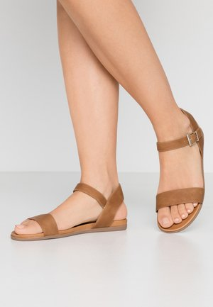 KASSIAN - Sandals - cognac