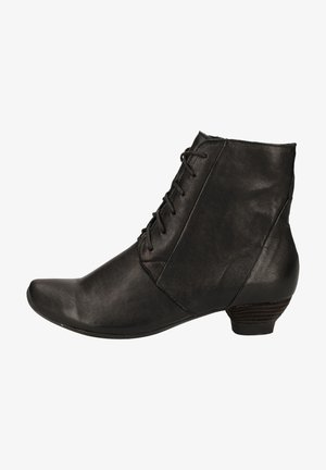 Lace-up ankle boots - schwarz 0010