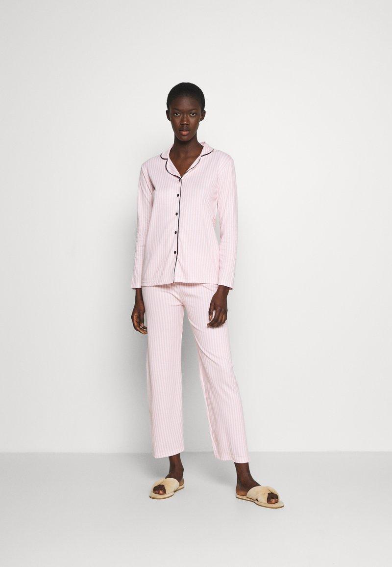 Trendyol - ÇOK RENKLI - Pyjamas - pink/white