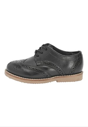 TAN LEATHER BROGUES (YOUNGER) - Smart lace-ups - black