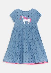 Staccato - KID - Denim dress - mid blue denim - 0