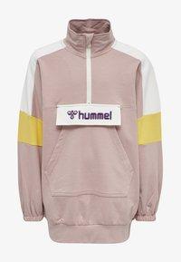 Hummel - VALERIE LONG UNISEX - Sweatshirt - deauville mauve - 0