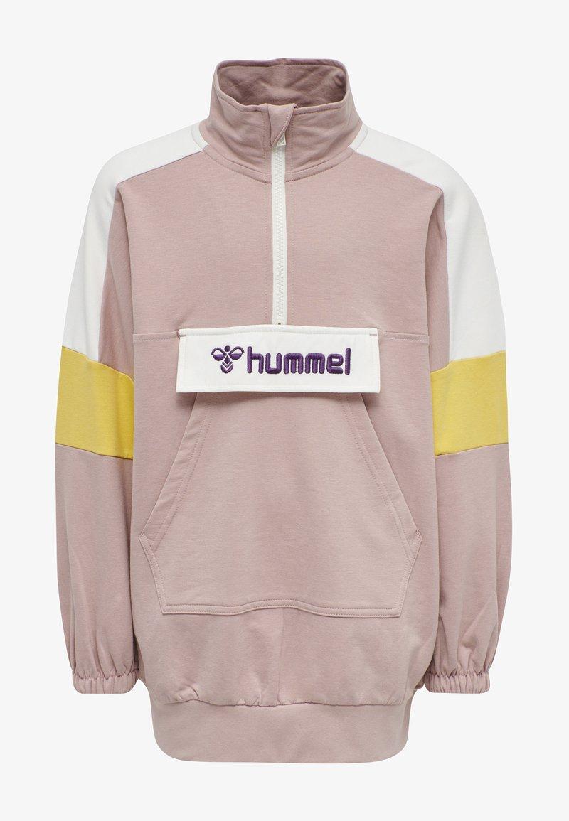 Hummel - VALERIE LONG UNISEX - Sweatshirt - deauville mauve