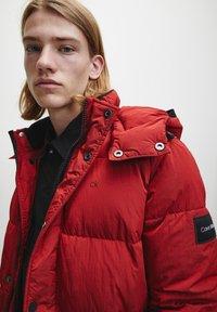 Calvin Klein - CRINKLE  - Winter jacket - racing red - 3