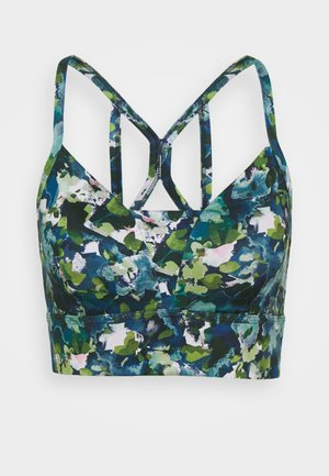 SUPER SCULPT YOGA BRA - Light support sports bra - green spring