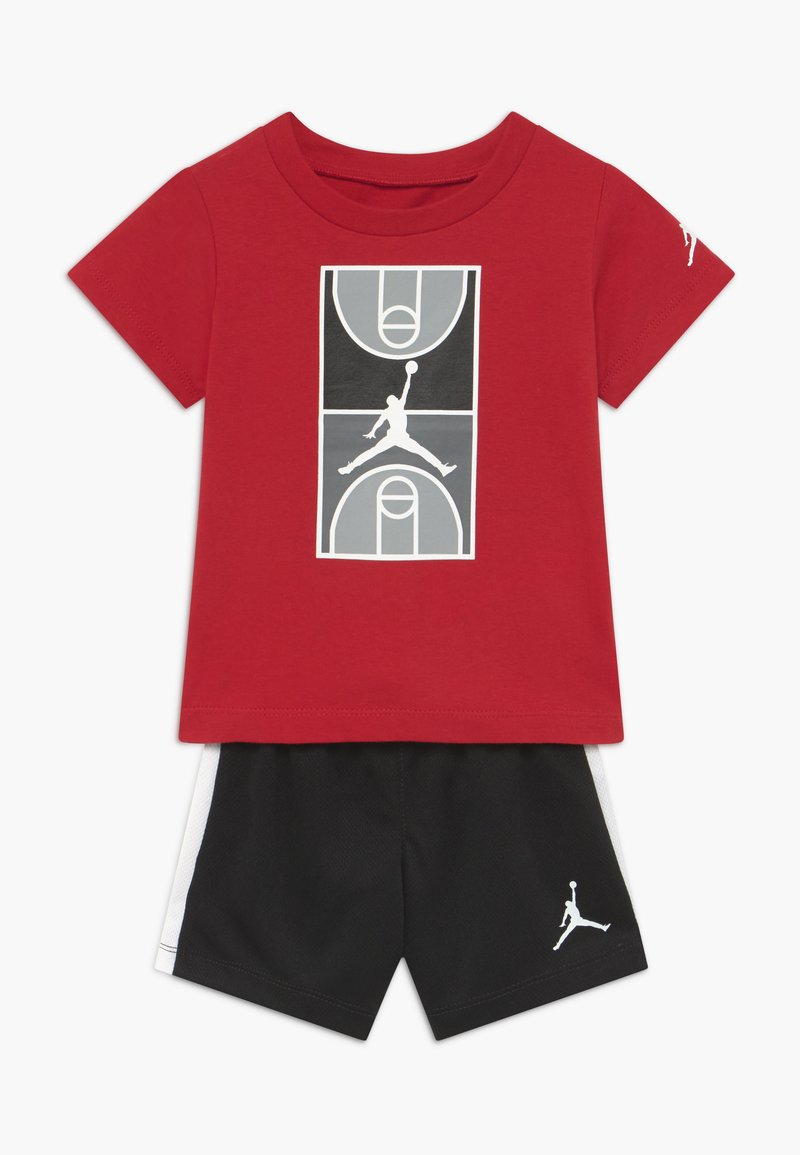 Jordan - COURT GRAPHIC TEE SET - Sports shorts - black