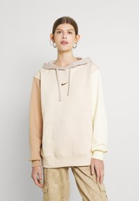 Nike Sportswear - HOODIE - Sweatshirt - pearl white - 0