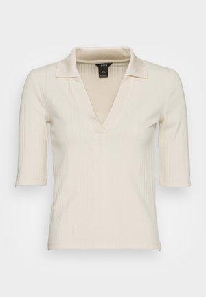 TOP NEA - Camiseta estampada - light beige