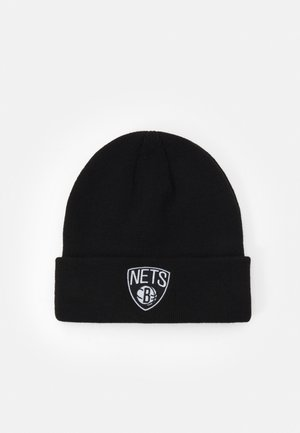 NBA BROOKLYN NETS CUFFED UNISEX - Mütze - black