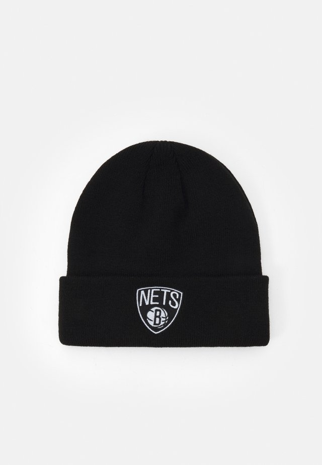 NBA BROOKLYN NETS CUFFED UNISEX - Lue - black