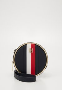 Tommy Hilfiger - STATEMENT CROSSOVER - Across body bag - blue - 0