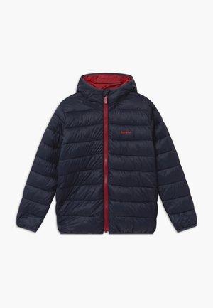 BOYS TRAWL QUILT - Winter jacket - navy/crimson