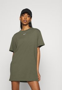Nike Sportswear - DRESS - Jerseyjurk - khaki - 5