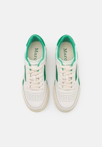 Marc O'Polo - COURT - Trainers - offwhite/green - 5