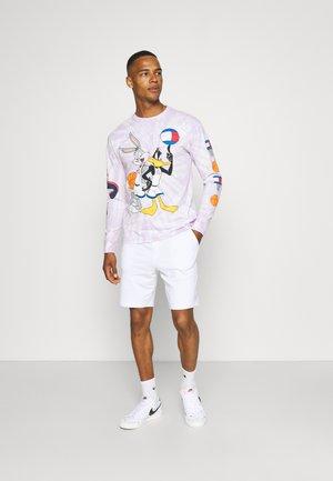 ONSNEIL 2 PACK - Shorts - white/black