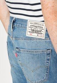 Levi's® - WELLTHREAD 502 - Džíny Straight Fit - watermark indigo hemp - 6