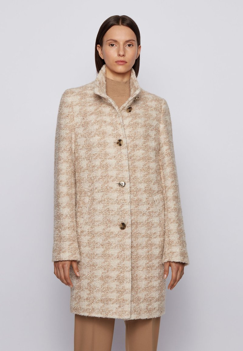 BOSS - Classic coat - patterned
