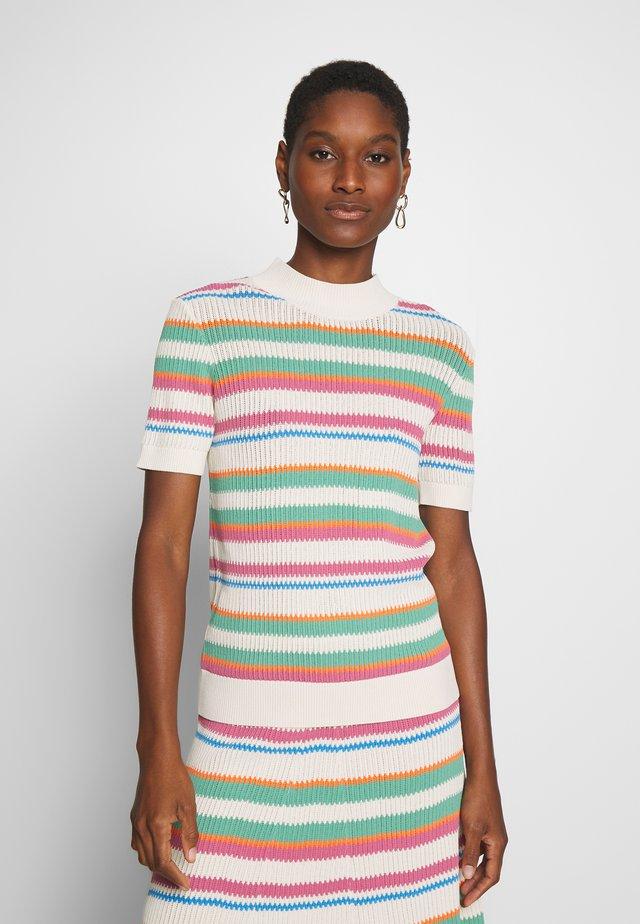 MAIK  - Camiseta estampada - creme de menthe